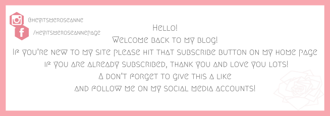 Hello!Welcome back to my blog!If you're new to my site please hit that subscribe button on my home pageor if you are already subscribed, thank you and love you lots!Also, don't forget to give this a like and follow m.png