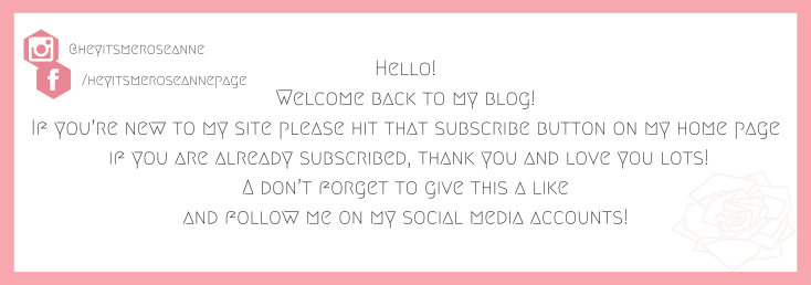 Hello!Welcome back to my blog!If you_re new to my site please hit that subscribe button on my home pageor if you are already subscribed, thank you and love you lots!Also, don_t forge