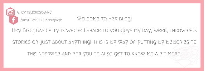 Hey Blog